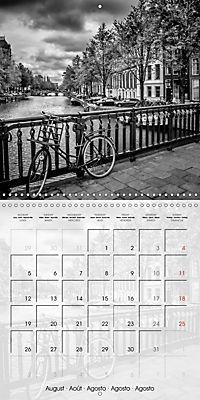 AMSTERDAM Monochrome Highlights (Wall Calendar 2019 300 × 300 mm Square) - Produktdetailbild 8