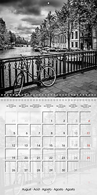 AMSTERDAM Monochrome Highlights (Wall Calendar 2019 300 × 300 mm Square) - Produktdetailbild 8
