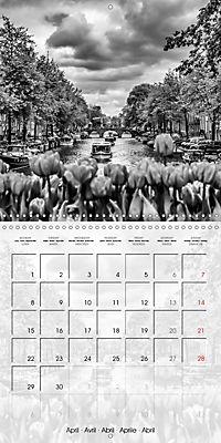 AMSTERDAM Monochrome Highlights (Wall Calendar 2019 300 × 300 mm Square) - Produktdetailbild 4
