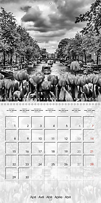 AMSTERDAM Monochrome Highlights (Wall Calendar 2019 300 × 300 mm Square) - Produktdetailbild 4