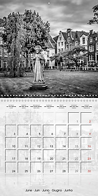 AMSTERDAM Monochrome Highlights (Wall Calendar 2019 300 × 300 mm Square) - Produktdetailbild 6