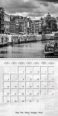 AMSTERDAM Monochrome Highlights (Wall Calendar 2019 300 × 300 mm Square) - Produktdetailbild 5