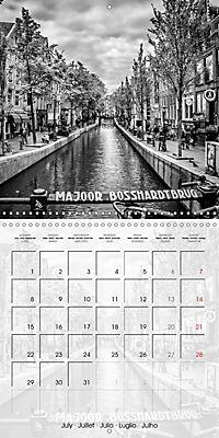 AMSTERDAM Monochrome Highlights (Wall Calendar 2019 300 × 300 mm Square) - Produktdetailbild 7