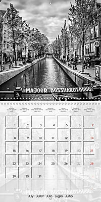 AMSTERDAM Monochrome Highlights (Wall Calendar 2019 300 × 300 mm Square) - Produktdetailbild 7