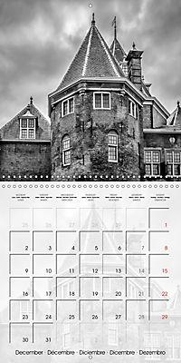 AMSTERDAM Monochrome Highlights (Wall Calendar 2019 300 × 300 mm Square) - Produktdetailbild 12