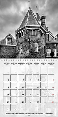 AMSTERDAM Monochrome Highlights (Wall Calendar 2019 300 × 300 mm Square) - Produktdetailbild 12