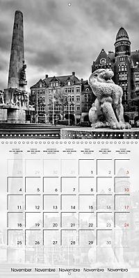 AMSTERDAM Monochrome Highlights (Wall Calendar 2019 300 × 300 mm Square) - Produktdetailbild 11