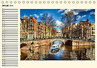 Amsterdam - Venedig des Nordens (Tischkalender 2019 DIN A5 quer) - Produktdetailbild 1