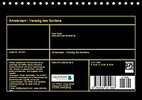 Amsterdam - Venedig des Nordens (Tischkalender 2019 DIN A5 quer) - Produktdetailbild 13