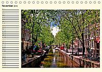 Amsterdam - Venedig des Nordens (Tischkalender 2019 DIN A5 quer) - Produktdetailbild 11