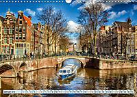 Amsterdam - Venedig des Nordens (Wandkalender 2019 DIN A3 quer) - Produktdetailbild 1