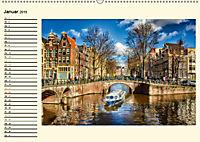 Amsterdam - Venedig des Nordens (Wandkalender 2019 DIN A2 quer) - Produktdetailbild 1