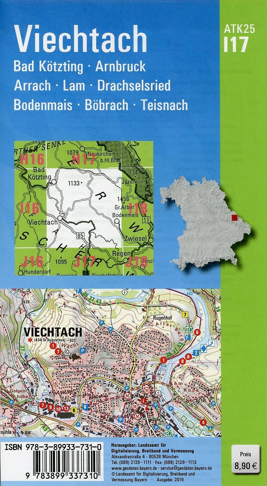 Topographische Karte Bayern.Amtliche Topographische Karte Bayern Buch Bestellen Weltbild De