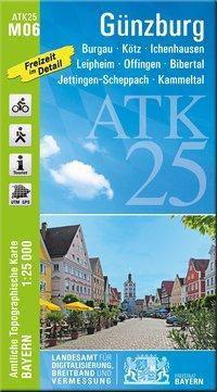 Amtliche Topographische Karte BayernGünzburg - Breitband und Vermessung, Bayern Landesamt für Digitalisierung  