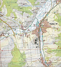Amtliche Topographische Karte Bayern Mallersdorf-Pfaffenberg - Produktdetailbild 2