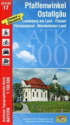 Amtliche Topographische Karte Bayern Pfaffenwinkel, Ostallgäu -  pdf epub