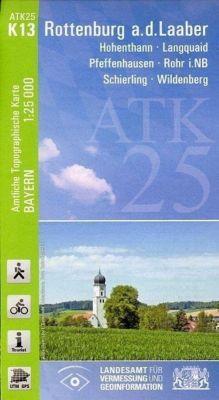Amtliche Topographische Karte Bayern Rottenburg a.d.Laaber, Breitband und Vermessung, Bayern Landesamt für Digitalisierung