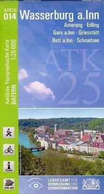 Amtliche Topographische Karte Bayern Wasserburg a.Inn, Breitband und Vermessung, Bayern Landesamt für Digitalisierung