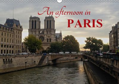 An afternoon in PARIS (Wall Calendar 2019 DIN A3 Landscape), Christophe Vacher