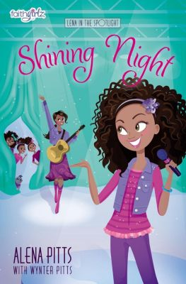 An Amish Homestead Novel: Shining Night, Alena Pitts