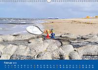 An der Waterkant mit Jan Cux und Cuxi (Wandkalender 2019 DIN A3 quer) - Produktdetailbild 2