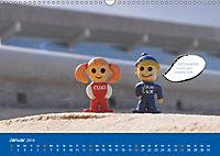 An der Waterkant mit Jan Cux und Cuxi (Wandkalender 2019 DIN A3 quer) - Produktdetailbild 1