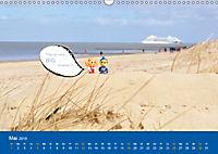 An der Waterkant mit Jan Cux und Cuxi (Wandkalender 2019 DIN A3 quer) - Produktdetailbild 5