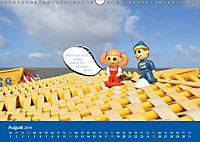 An der Waterkant mit Jan Cux und Cuxi (Wandkalender 2019 DIN A3 quer) - Produktdetailbild 8