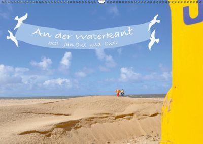 An der Waterkant mit Jan Cux und Cuxi (Wandkalender 2019 DIN A2 quer), Kornelia Exner