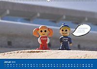 An der Waterkant mit Jan Cux und Cuxi (Wandkalender 2019 DIN A2 quer) - Produktdetailbild 1