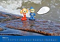An der Waterkant mit Jan Cux und Cuxi (Wandkalender 2019 DIN A2 quer) - Produktdetailbild 3