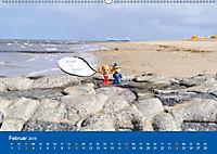 An der Waterkant mit Jan Cux und Cuxi (Wandkalender 2019 DIN A2 quer) - Produktdetailbild 2