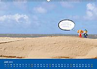 An der Waterkant mit Jan Cux und Cuxi (Wandkalender 2019 DIN A2 quer) - Produktdetailbild 6