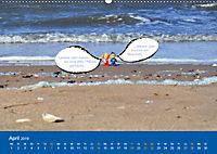 An der Waterkant mit Jan Cux und Cuxi (Wandkalender 2019 DIN A2 quer) - Produktdetailbild 4