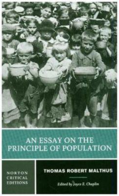 An Essay on the Principle of Population, Thomas Robert Malthus