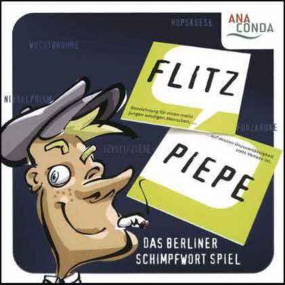 Anaconda Flitzpiepe, Memo-Spiel, Michael Schmitz, Roland Pecher, Walter Soiron
