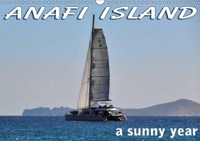 ANAFI ISLAND a sunny year (Wall Calendar 2019 DIN A3 Landscape), Xenia Sg