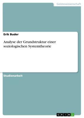 Analyse der Grundstruktur einer soziologischen Systemtheorie, Erik Buder