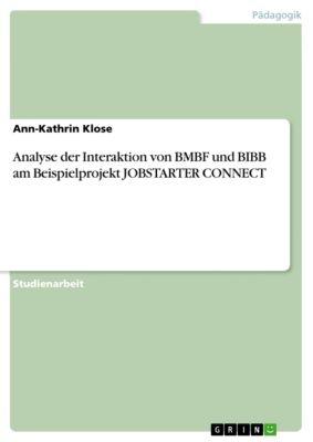 Analyse der Interaktion von BMBF und BIBB am Beispielprojekt JOBSTARTER CONNECT, Ann-Kathrin Klose