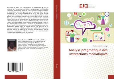 Analyse pragmatique des interactions médiatiques, Godefroy Irénée Zanga