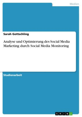 Analyse und Optimierung des Social Media Marketing  durch Social Media Monitoring, Sarah Gottschling