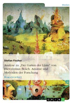 Analyse zu Der Garten der Lüste  von Hieronymus Bosch. Ansätze und Methoden der Forschung, Stefan Fischer