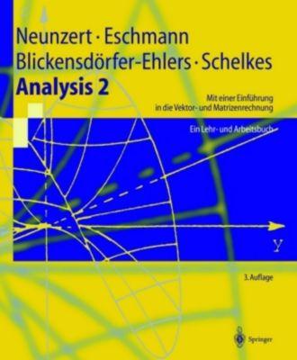 Analysis, 2 Bde.: Bd.2 Analysis 2 - Ein Lehr-  und Arbeitsbuch