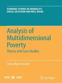 Analysis of Multidimensional Poverty, Louis-Marie Asselin