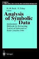 Analysis of Symbolic Data