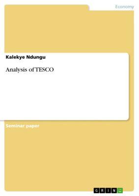 Analysis of TESCO, Kalekye Ndungu