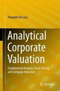Analytical Corporate Valuation, Pasquale De Luca