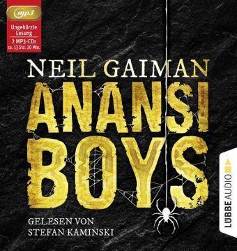 Anansi Boys, 2 Audio-CDs, MP3 Format, Neil Gaiman