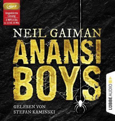 Anansi Boys, 2 MP3-CDs, Neil Gaiman