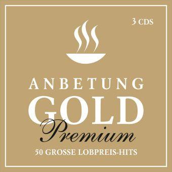 Anbetung Gold Premium, 3 Audio-CDs